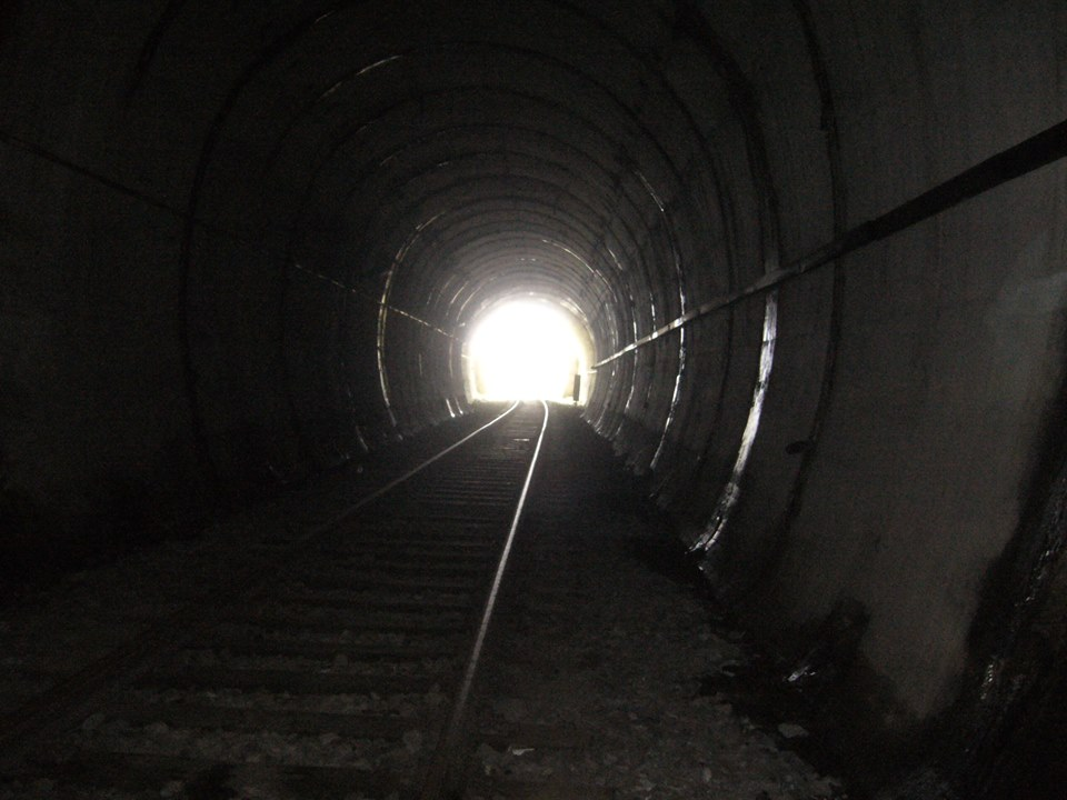 Światełko w tunelu w Łupkowie Fot. Magda Wójtowicz