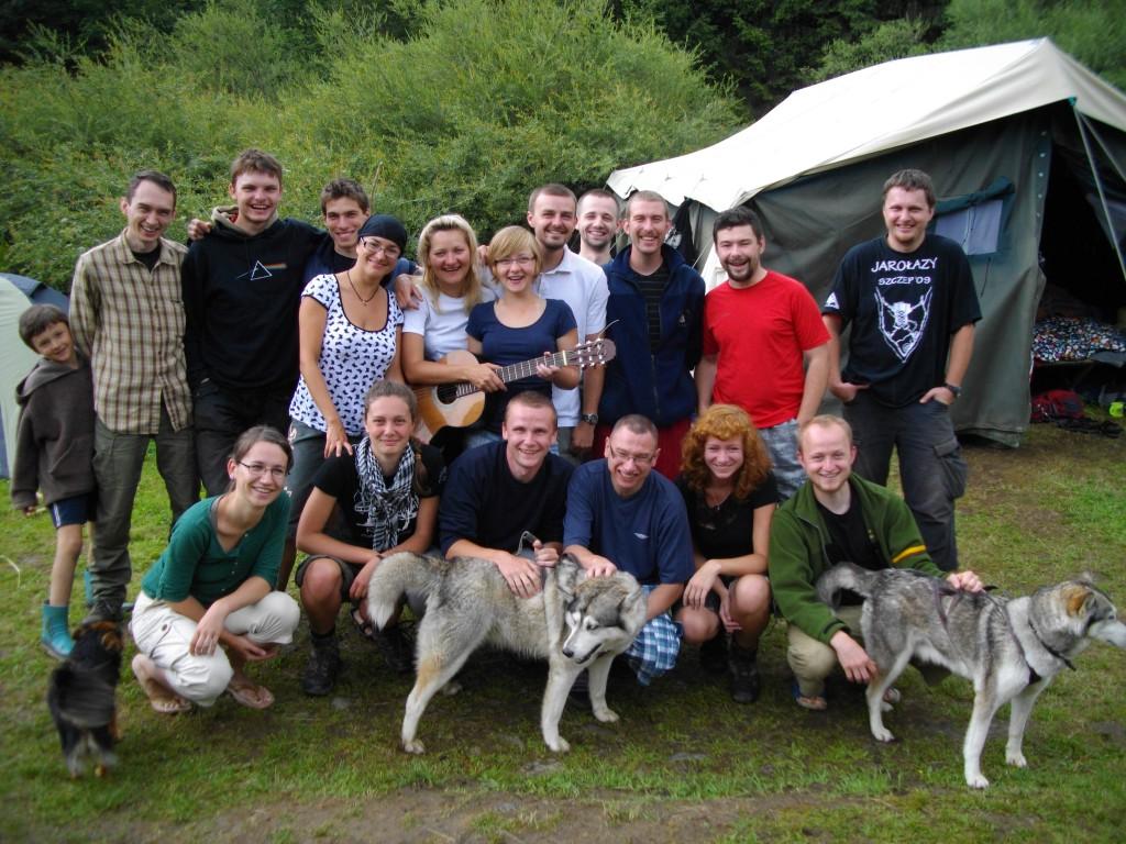 Kurs 2010/2011 po przejściu manewrów w Beskidzie Niskim :)