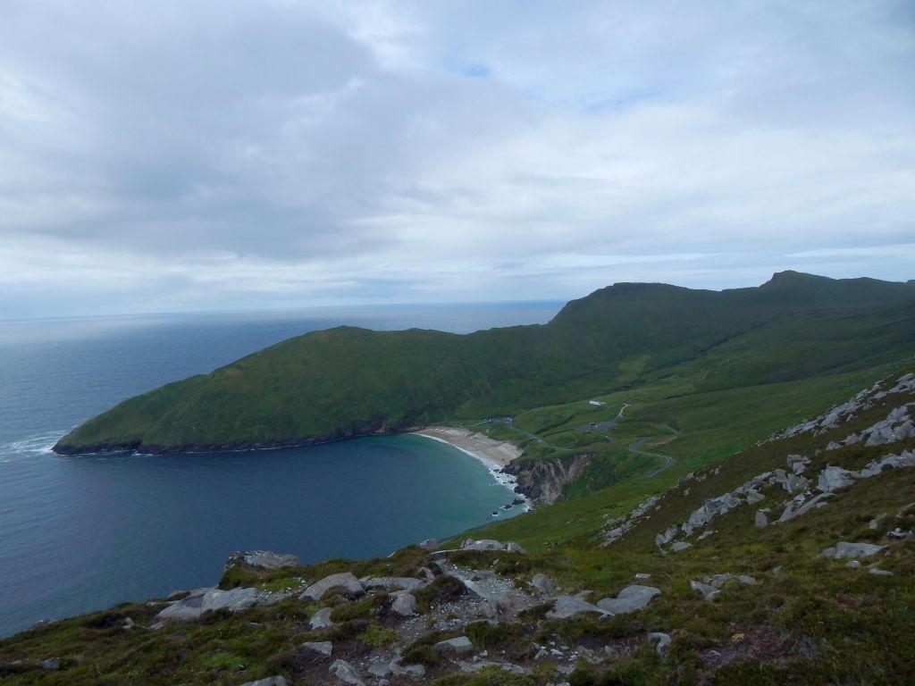 Wyspa Achill - plaża Keem